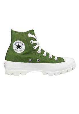 Converse Chucks Grün 567163C Chuck Taylor All Star Lugged Boot HI - Cypress Green Black White – Bild 4