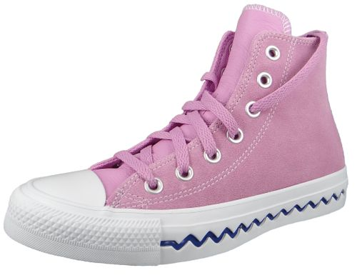 Converse Chucks Pink 567166C Chuck Taylor All Star Seasonal HI - Peony Pink University Red – Bild 1