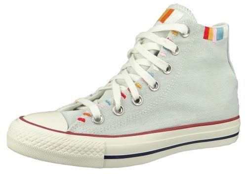 Converse Chucks Blau 567991C Chuck Taylor All Star Seasonal HI - Blue Tint Multi Egret – Bild 1