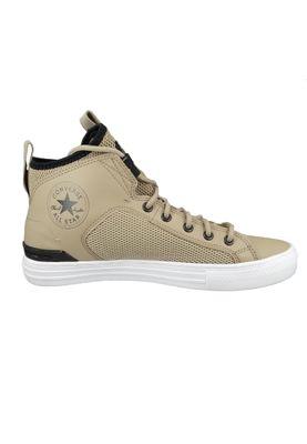 Converse Chuck Beige 167885C Chuck Taylor All Star Ultra Mid - Khaki Black White – Bild 4