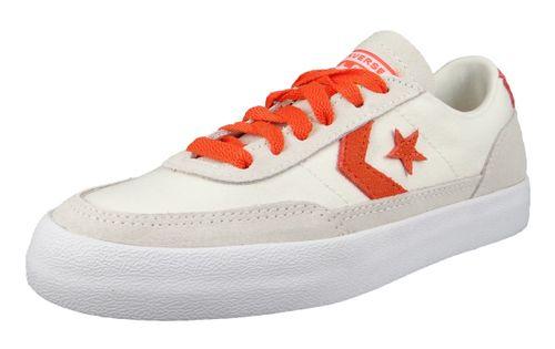 Converse Chuck Weiß 167624C Chuck Taylor Net Star Classic OX - Egret Bold Mandarin White – Bild 1