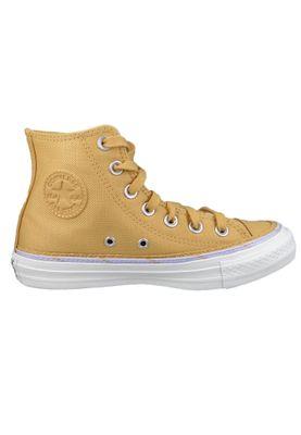 Converse Chucks Gelb 567638C  Chuck Taylor All Star HI - Soba Moonstone Violet White – Bild 4