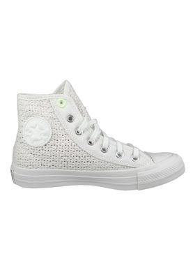 Converse Chucks Weiß 5676554 Chuck Taylor All Star HI - White Barely Volt White – Bild 4