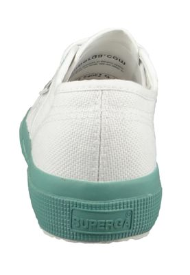 Superga Damen Schuhe Sneaker COTWGRADIENT 2750 Weiß White Blue LT Crystal – Bild 4