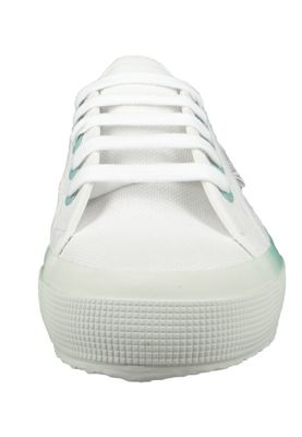 Superga Damen Schuhe Sneaker COTWGRADIENT 2750 Weiß White Blue LT Crystal – Bild 6