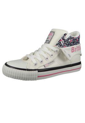 British Knights Sneaker B45-3726-01 Roco Weiss White Leopard Flamingo Pink – Bild 2