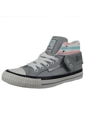 British Knights Sneaker B45-3734-01 Roco Grau LT Grey Turquoise Pink – Bild 2