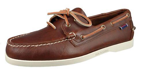 Sebago 70000G0 900 Docksides Portland Waxed Herren Bootsschuhe Brown Braun – Bild 1