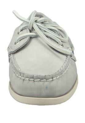 Sebago 71111IW 918 Jacqueline Nubuck Docksides Damen Bootsschuhe Grau LT Grey – Bild 6