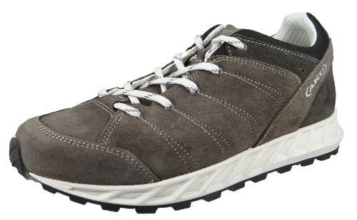 AKU Hiking Boots Trekking 501.2-095 Leather Bellamont Mid Plus Brown Dark Brown – Bild 1