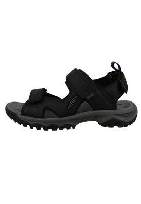KEEN Herren Sandale Trekkingsandale TARGHEE III Open Toe Schwarz Black Grey - 1022422 – Bild 2