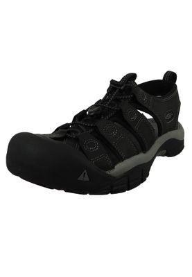 KEEN Men's Sandal Trekking Sandals NEWPORT Neutral Gray / Gargoyle Gray / Dark Brown - 1010122