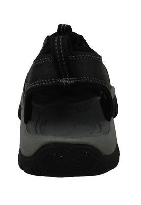 KEEN Herren Sandale Trekkingsandale NEWPORT Schwarz - Black Steel Grey - 1022247 – Bild 3