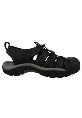 KEEN Herren Sandale Trekkingsandale NEWPORT Schwarz - Black Steel Grey - 1022247 – Bild 4