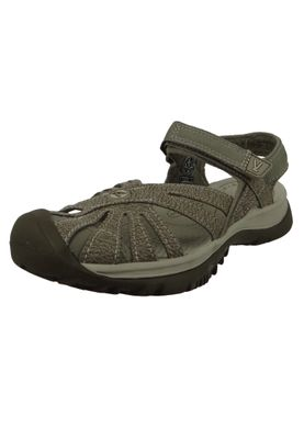 KEEN Women's Sandal Rose Sandal Black Neutral Gray Black - 1008783