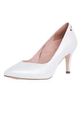 Tamaris 1-22403-24 101 Damen White Pearl Leder Pumps – Bild 2