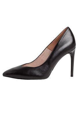 Tamaris 1-22443-24 003 Damen Black Leather Schwarz High-Heel Leder Pumps mit TOUCH-IT Sohle – Bild 2