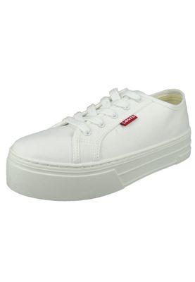 Levis Schuhe Sneaker Tijuana Brilliant White Weiss 230704-1733-50 – Bild 1