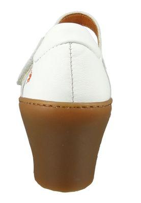 Art 1447 Alfama Damen Leder Pumps White Weiß – Bild 3