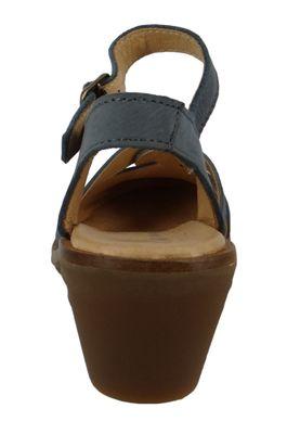 El Naturalista N5359 Aqua Damen Leder Sandale Sandalette Leather Vaquero Blau – Bild 3