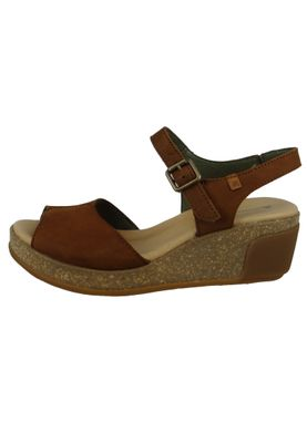 El Naturalista N5000 Leaves Damen Leder Keil-Sandalette Leather Pleasant Wood Braun – Bild 6