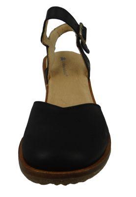 El Naturalista N5164 Trivia Damen Leder Pumps Leather Pleasant Black Schwarz – Bild 5