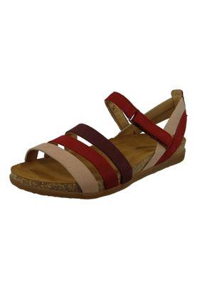 El Naturalista N5244 Zumaia Damen Leder Sandale Tibet Mixed Rot – Bild 1