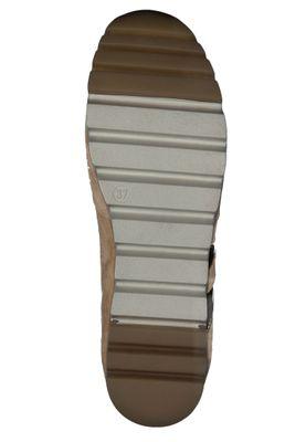 Tamaris 1-23749-24 313 Damen Camel/Lt. Gold Braun Leder Sneaker – Bild 3