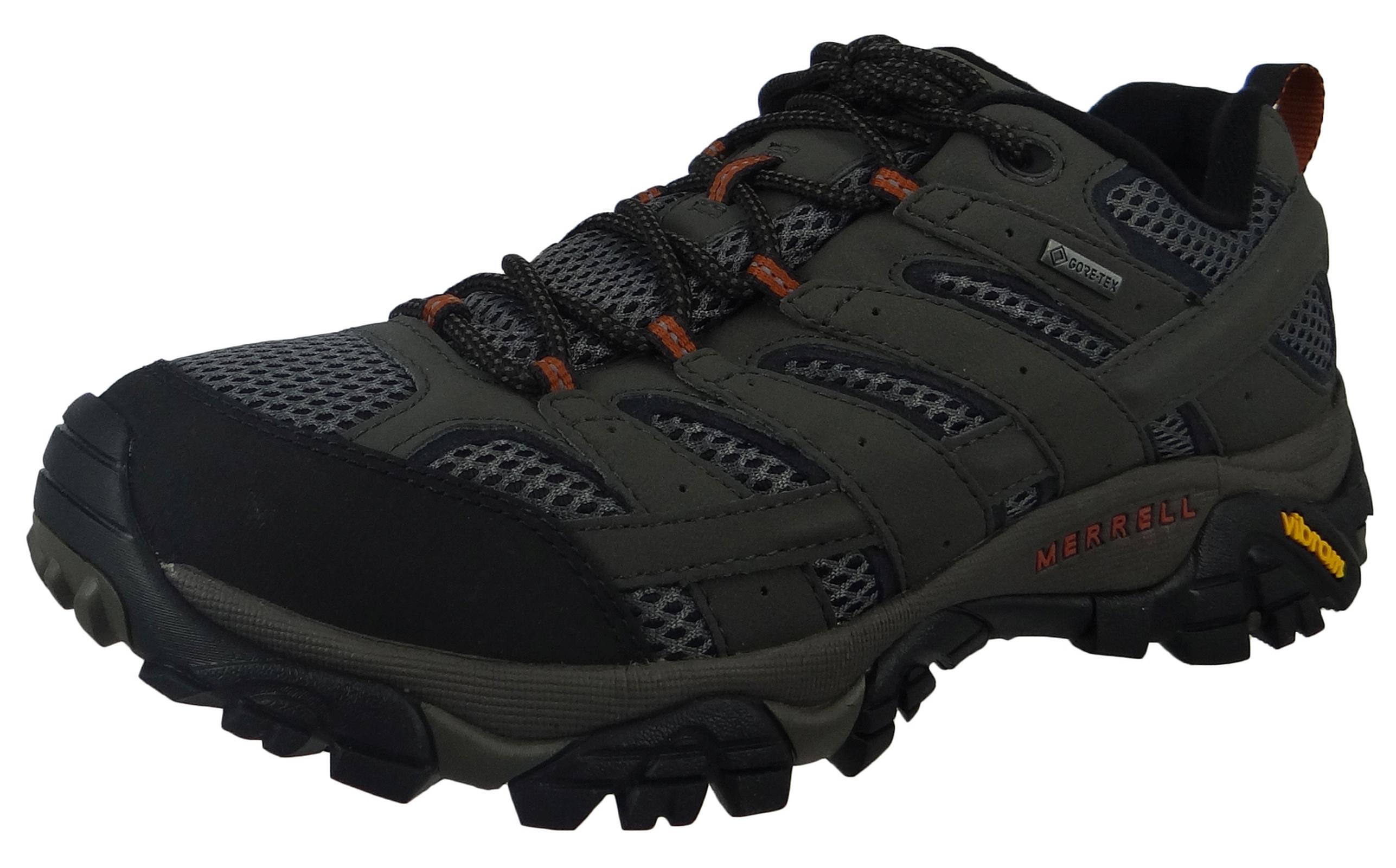Merrell Moab 2 GTX J06039 Herren Hikingschuh Beluga Grau | Schuhkings Schuhe von den Königen