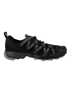 Merrell Choprock Sandal J50325 Herren Sandale Leder Black Schwarz Trekkingsandale – Bild 4