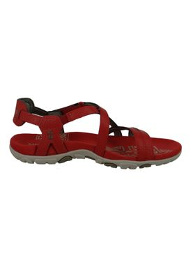 Merrell Sandspur Chilli Leather J98772 Damen Sandale Rot – Bild 4