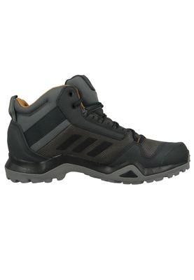 adidas TERREX AX3 MID GTX BC0468 Herren Hiking Outdoorschuhe grey five core black Grau – Bild 5