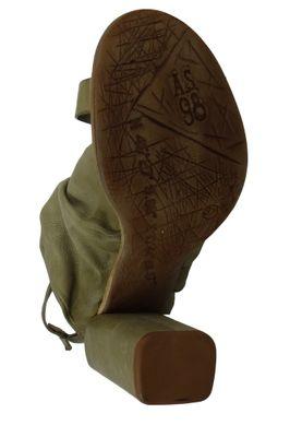 A.S. 98 Damen Leder Sandalette Vide Africa Grau A03001-0201-6487 – Bild 5