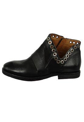 A.S. 98 Damen Leder Stiefelette Ankle Boot Zeport Nero Schwarz 630218-0101-6002 – Bild 2
