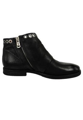 A.S. 98 Damen Leder Stiefelette Ankle Boot Zeport Nero Schwarz 630218-0101-6002 – Bild 4