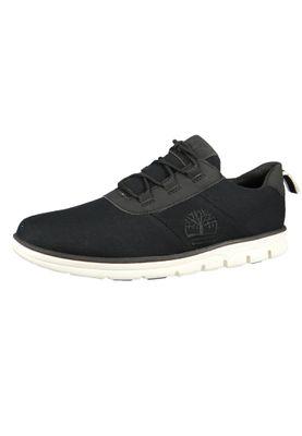 Timberland CA2CJ8 Bradstreet Herren Sneaker ReBOTL Fabric Oxford Low Top Black Schwarz – Bild 1