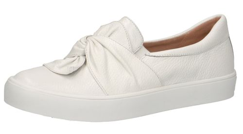 Caprice 9-24602-24 105 Damen Leder Sneaker Low Top White Deer Weiß – Bild 1
