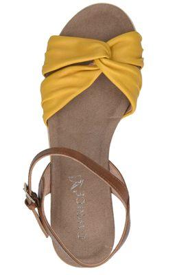 Caprice Damen Sandale Gelb 9-28609-24 635 Lemon Nut – Bild 6