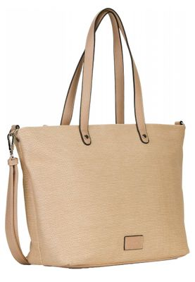 Tamaris Tasche Anja Shopper Bag Handtasche Schultertasche Sand Braun – Bild 2