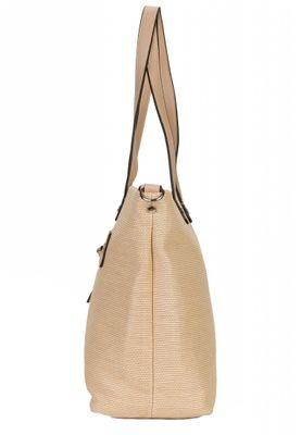 Tamaris Tasche Anja Shopper Bag Handtasche Schultertasche Sand Braun – Bild 4
