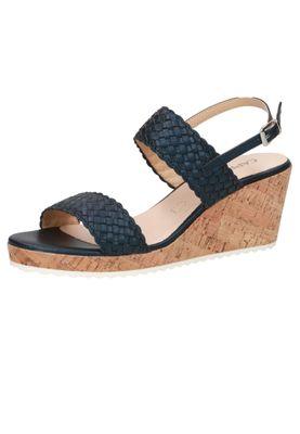 Caprice Damen Keil-Sandale Sandalette Blau 9-28702-24 807 Ocean – Bild 2