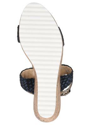 Caprice Damen Keil-Sandale Sandalette Blau 9-28702-24 807 Ocean – Bild 5
