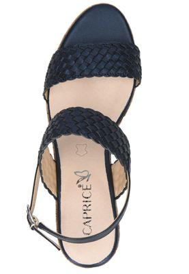 Caprice Damen Keil-Sandale Sandalette Blau 9-28702-24 807 Ocean – Bild 6