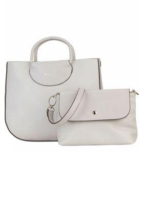 Tamaris Tasche Alexa Shopper Bag Handtasche Schultertasche Grau – Bild 7