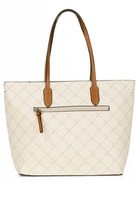 Tamaris Tasche Anastasia Shopper Bag Handtasche Schultertasche Ecru Weiß – Bild 4