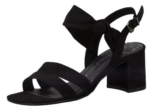 Marco Tozzi Damen Sandale Sandalette Schwarz Black 2-2-28300-24 001 – Bild 1