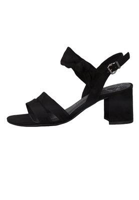 Marco Tozzi Damen Sandale Sandalette Schwarz Black 2-2-28300-24 001 – Bild 3