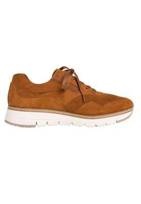Tamaris 1-23783-24 450 Damen Nut Suede Braun Leder Sneaker – Bild 5
