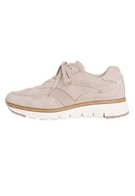Tamaris 1-23783-24 422 Damen Cashmere Suede Grau Leder Sneaker – Bild 7