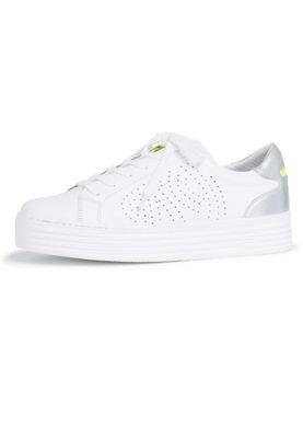 Tamaris 1-23788-24 197 Damen White Comb Weiss sportlicher Halbschuh Sneaker – Bild 2